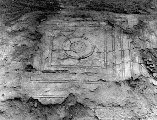 Реставрация на Есхара от дворцовия комплекс на Небет тепе, Археологически музей гр. Пловдив
